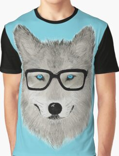 Wild Animal with Glasses - V02 Graphic T-Shirt