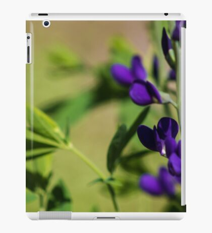 Lavender Colored Stems iPad Case/Skin