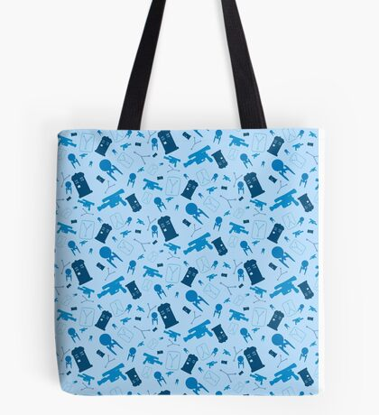 Science Fiction Quadruple Feature Tote Bag