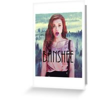 Teen Wolf Lydia Martin Banshee Greeting Card