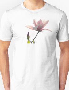 Pink magnolia unfolding T-Shirt