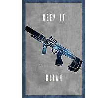 Keep it clean Photographic Print