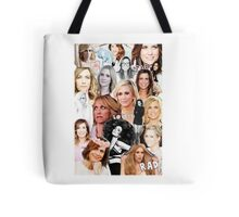 Kristin Wiig collage Tote Bag