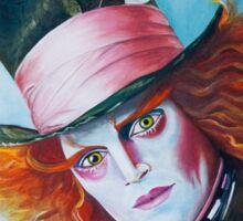 The Mad Hatter - Johnny Depp Sticker