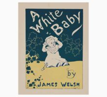 Artist Posters A white baby by James Welsh 0659 Kids Tee