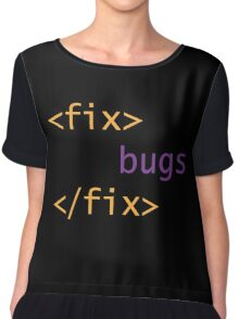 Fix Bugs Chiffon Top