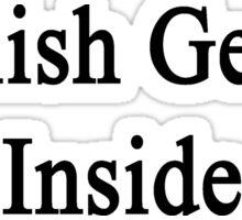 English Genius Inside  Sticker