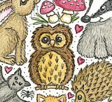 Love Nature Heart Sticker