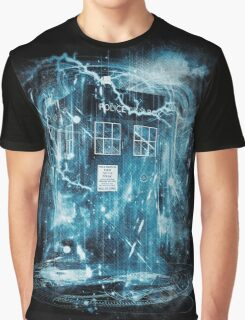 Time and space storm Graphic T-Shirt