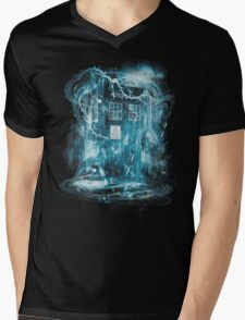 Time and space storm Mens V-Neck T-Shirt