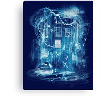 Time and space storm Canvas Print