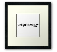 Pandooven's 5th Symphony Framed Print