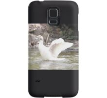 White Female Duck Samsung Galaxy Case/Skin