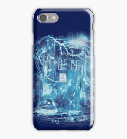 Time and space storm iPhone Case/Skin