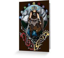 Skyrim Nouveau Greeting Card