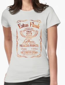 Estus Label - Flame Womens Fitted T-Shirt