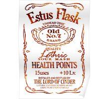 Estus Label - Flame Poster
