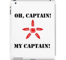 Oh Captain! #TeamSteve iPad Case/Skin