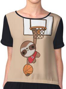 sloth Chiffon Top