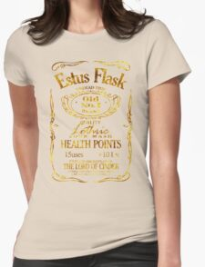 Estus Label - Golden Womens Fitted T-Shirt
