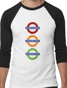 Wombling Free Men's Baseball ¾ T-Shirt