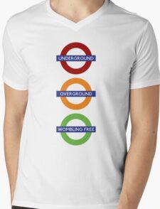 Wombling Free Mens V-Neck T-Shirt