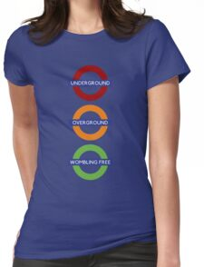 Wombling Free Womens Fitted T-Shirt