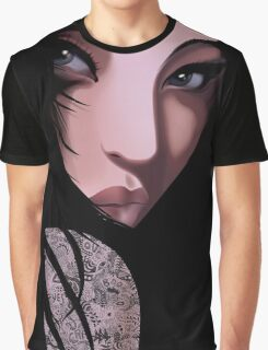The Black Geisha Graphic T-Shirt