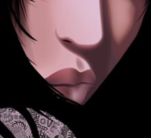 The Black Geisha Sticker