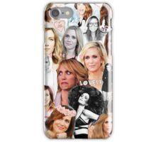 Kristin Wiig collage iPhone Case/Skin