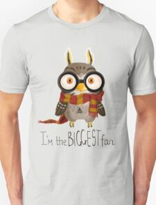 Small owlet - Biggest HP fan Unisex T-Shirt