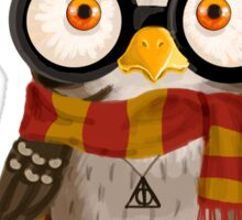 Small owlet - Biggest HP fan Sticker