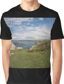 South west coast path Graphic T-Shirt