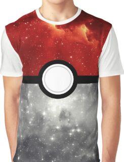 Pokéball Galaxy Graphic T-Shirt