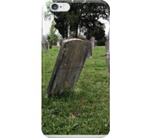""""""" 'THE CEMETERY"""", a Series, #1, Waning with Time """"...prints and products iPhone Case/Skin"""