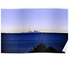 T.O. From Across Lake Ontario Poster