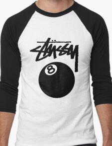 STUSSY EIGHT BALL EXCLUSIVE Men's Baseball ¾ T-Shirt