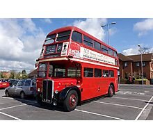 London Transport RT1599 Routemaster Bus Photographic Print