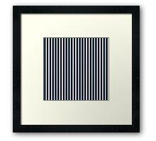 BLUE NAVY Framed Print