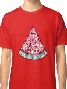 Watermelon: Mint/Red Classic T-Shirt