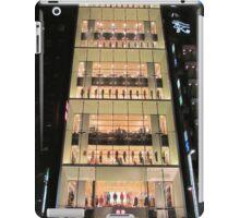 UNIQLO Ginza Streetscape, Chūō, Tokyo iPad Case/Skin