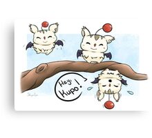 Silly Moogles Canvas Print