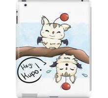 Silly Moogles iPad Case/Skin