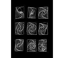 Sound dimensions_black Photographic Print