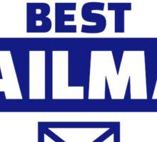 World's best mailman Sticker