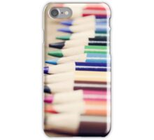 Colorful life iPhone Case/Skin