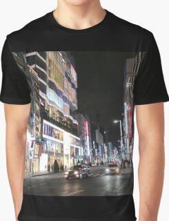 Ginza Streetscape, Chūō, Tokyo Graphic T-Shirt