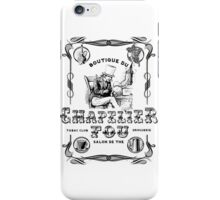 (Vintage French) The Mad Hatter, Le chapelier fou, Alice in Wonderland  iPhone Case/Skin