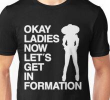 Okay Ladies (white font) Unisex T-Shirt
