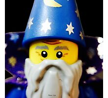Lego Wizard minifigure Photographic Print